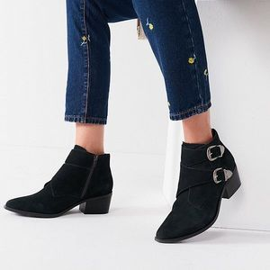Urban Outfitters Western Ankle Boots